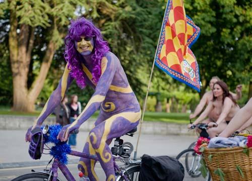 Southampton Naked Bike Ride